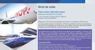 Annonce diff TRAIN AVION ETERNELS RIVAUX